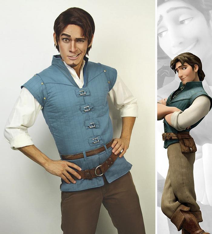 Chàng trai cosplay nhân vật hoạt hình Disney đẹp chẳng kém gì bản gốc - Ảnh 7.