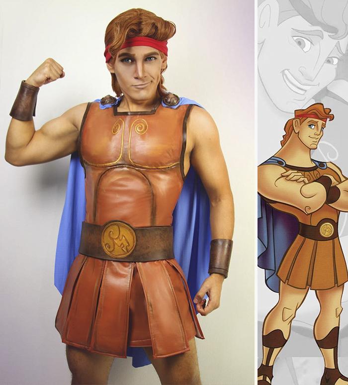 Chàng trai cosplay nhân vật hoạt hình Disney đẹp chẳng kém gì bản gốc - Ảnh 11.