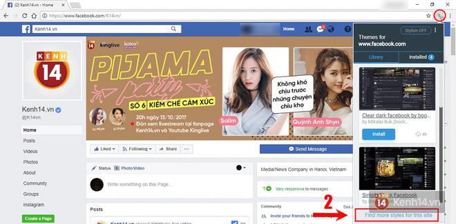 Làm thế nào để lột xác giao diện Facebook thành tác phẩm nghệ thuật của riêng bạn? - Ảnh 6.