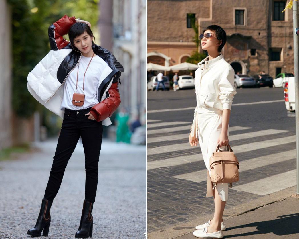 Cắt tóc tomboy siêu ngắn nhưng Lưu Thi Thi vẫn đẹp tựa nữ thần nhờ chọn được style phù hợp - Ảnh 5.