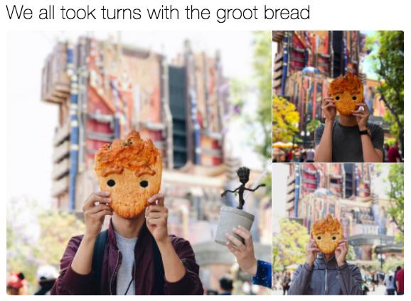 Cận cảnh chiếc bánh mì Groot đang làm mưa làm gió khắp các mạng xã hội và các fan của siêu anh hùng này - Ảnh 5.