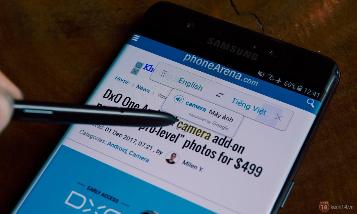 Trải nghiệm khả năng đa nhiệm, giải trí và bút S Pen thần thánh của Galaxy Note FE - Ảnh 10.