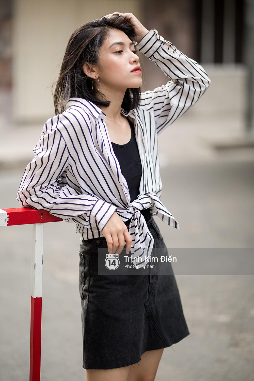 Toàn quất trắng đen nhưng street style của giới trẻ 2 miền chẳng hề nhàm chán mà còn nổi hết cỡ - Ảnh 1.