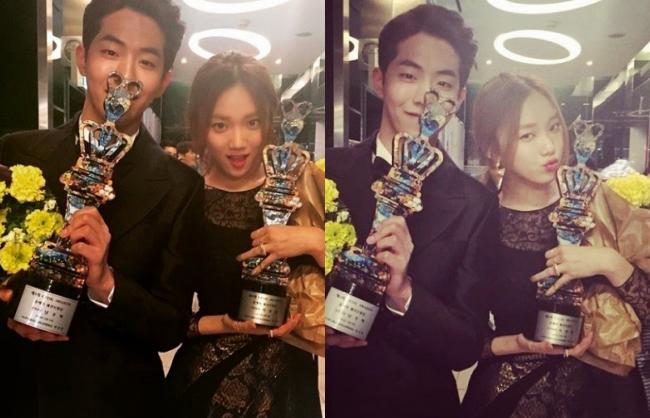 Những khoảnh khắc tình bể bình minh chứng cặp đôi YG Lee Sung Kyung và Nam Joo Hyuk là chân ái - Ảnh 9.