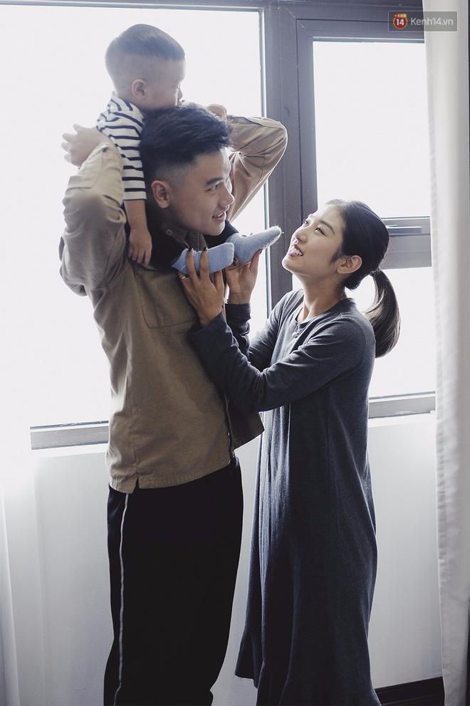 Gia đình trong mơ Trang Lou - Tùng Sơn: Có con là điều khó khăn nhất nhưng cũng hạnh phúc nhất! - Ảnh 7.