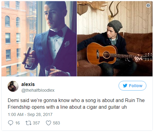 Là bạn thân 10 năm nhưng Demi tiết lộ muốn vượt rào với Nick Jonas trong bài mới? - Ảnh 4.