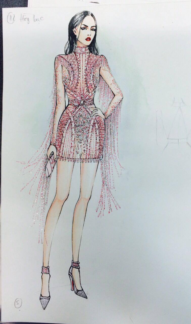 Đỗ Long - NTK ruột của Ngọc Trinh lần đầu lên sàn Vietnam International Fashion Week - Ảnh 3.