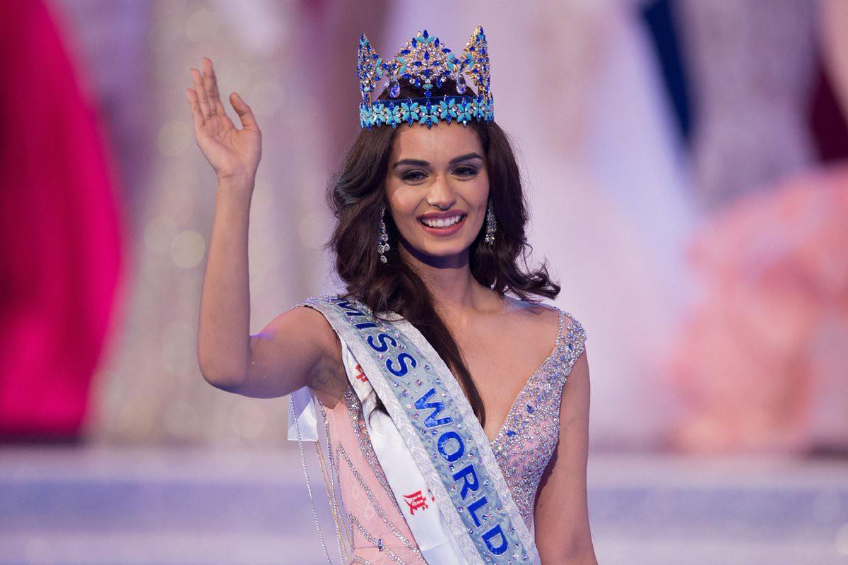 Hoa hậu của 6 cuộc thi lớn nhất thế giới năm 2017: Người đẹp tuyệt trần, kẻ thì bị chê là thảm họa - Ảnh 4.