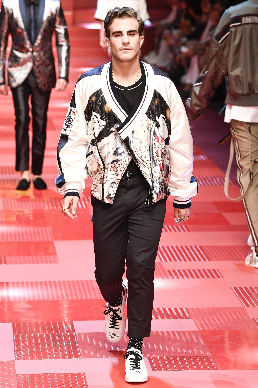 Sàn diễn Dolce&Gabbana thành Đại hội mỹ nam, nổi nhất là Mario Maurer và Vương Tuấn Khải! - Ảnh 16.