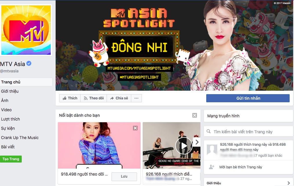 Đông Nhi được chọn là Nghệ sĩ nổi bật nhất tháng 7, xuất hiện trên kênh MTV nhiều nước trên thế giới - Ảnh 2.
