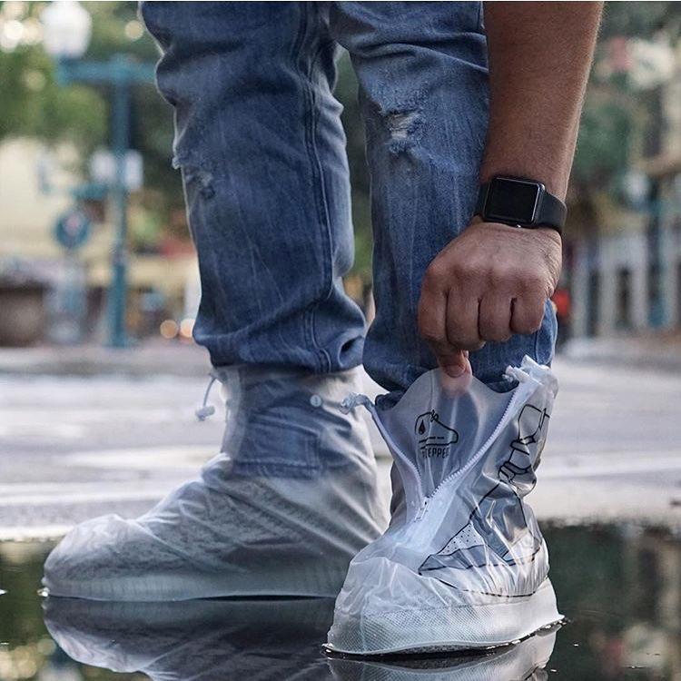 Áo mưa cho sneaker cuối cùng cũng ra đời - Ảnh 3.