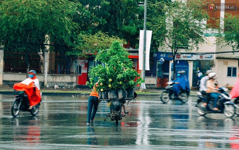 Trên đường phố Sài Gòn, có những người hàng chục năm chở theo một chợ xanh sau yên xe máy - Ảnh 2.