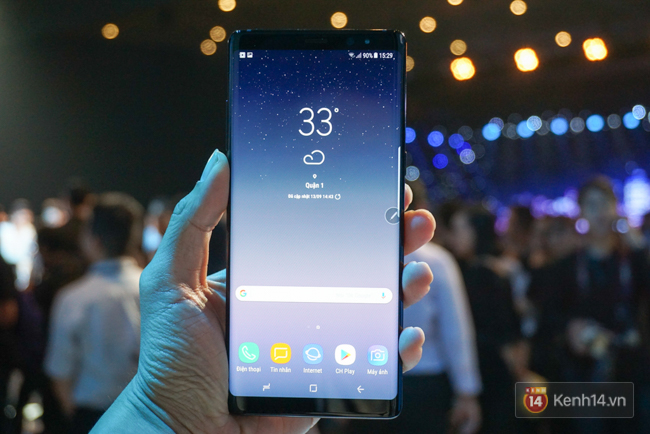 Trên tay Samsung Galaxy Note8 vừa ra mắt tại Việt Nam: Thiết kế rất ấn tượng, giá 22,5 triệu đồng! - Ảnh 2.