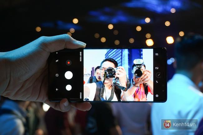 Trên tay Samsung Galaxy Note8 vừa ra mắt tại Việt Nam: Thiết kế rất ấn tượng, giá 22,5 triệu đồng! - Ảnh 13.