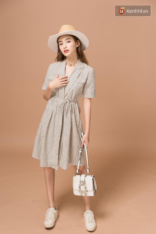 Diện 5 kiểu váy thắt nơ này, nàng nào cũng tươi xinh ngọt ngào lên vài chân kính - Ảnh 2.