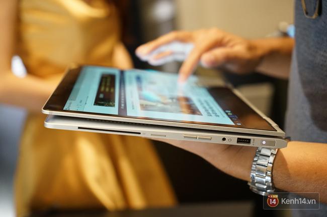 HP ra mắt laptop EliteBook x360 và Spectre x360: màn hình cảm ứng, xoay lật 360 độ ấn tượng - Ảnh 15.