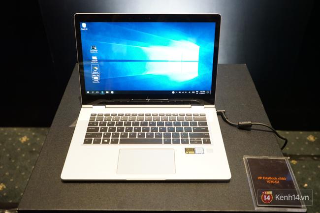 HP ra mắt laptop EliteBook x360 và Spectre x360: màn hình cảm ứng, xoay lật 360 độ ấn tượng - Ảnh 9.