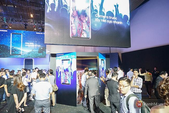 Cùng nhìn lại sự kiện ra mắt Samsung Galaxy S8 đầy thú vị và bất ngờ - Ảnh 7.