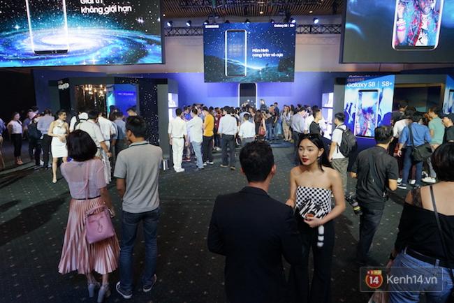 Cùng nhìn lại sự kiện ra mắt Samsung Galaxy S8 đầy thú vị và bất ngờ - Ảnh 14.