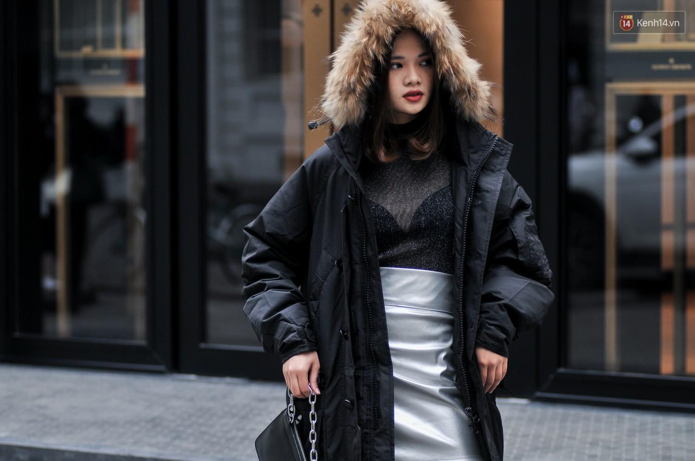 Street style 2 miền: không thời trang phang thời tiết, giới trẻ trổ tài lên đồ ấm áp nhưng vẫn hút mắt - Ảnh 4.