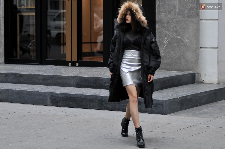 Street style 2 miền: không thời trang phang thời tiết, giới trẻ trổ tài lên đồ ấm áp nhưng vẫn hút mắt - Ảnh 3.