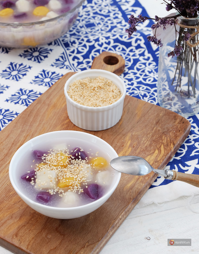 Ngoài trà sữa trân châu, người Đài Loan còn có chè khoai dẻo ngon không kém - Ảnh 12.