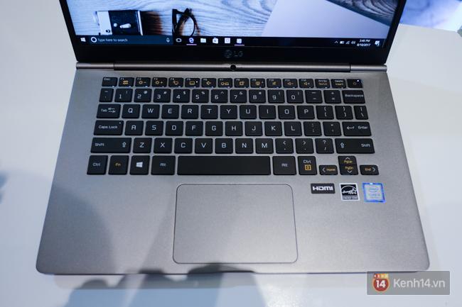 LG ra mắt dòng laptop LG Gram siêu nhẹ đến thị trường Việt Nam, chỉ bằng 5 chiếc iPhone 7 Plus - Ảnh 5.