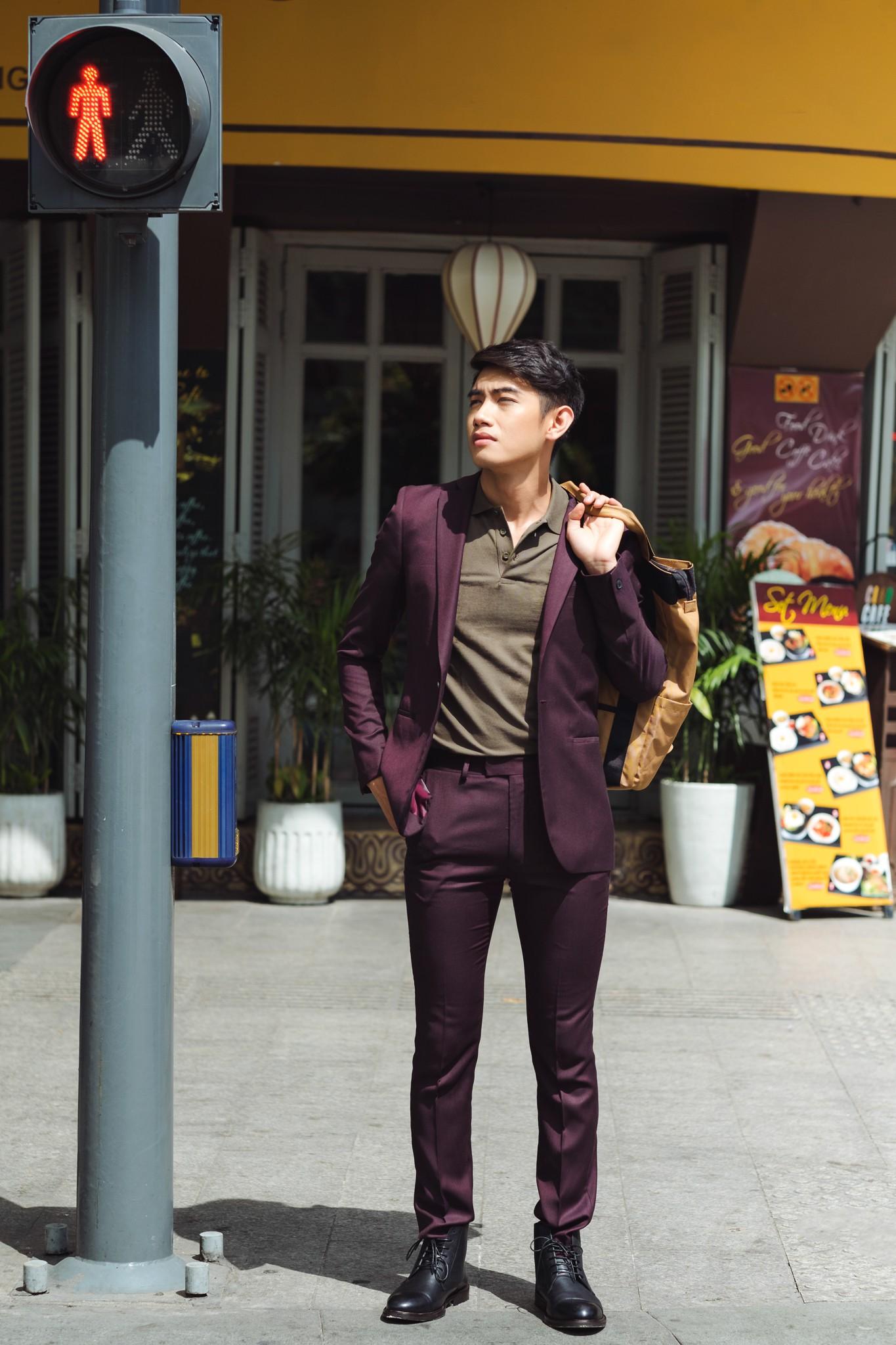 Học cách biến hóa cùng chàng dancer Quang Đăng với những bộ suit Topman - Ảnh 2.