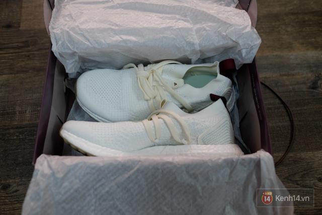 Review cận cảnh đôi adidas làm từ rác thải đại dương đã có mặt tại Việt Nam: đẹp - nhẹ và đế ngoài siêu bền - Ảnh 11.