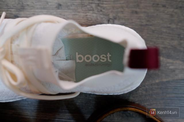 Review cận cảnh đôi adidas làm từ rác thải đại dương đã có mặt tại Việt Nam: đẹp - nhẹ và đế ngoài siêu bền - Ảnh 16.