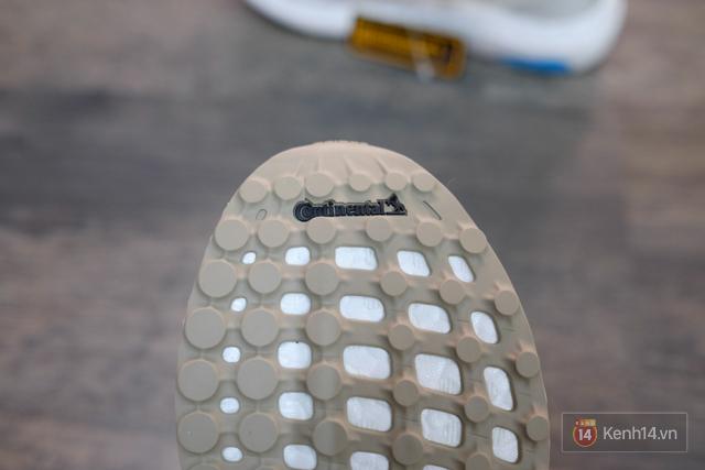 Review cận cảnh đôi adidas làm từ rác thải đại dương đã có mặt tại Việt Nam: đẹp - nhẹ và đế ngoài siêu bền - Ảnh 18.