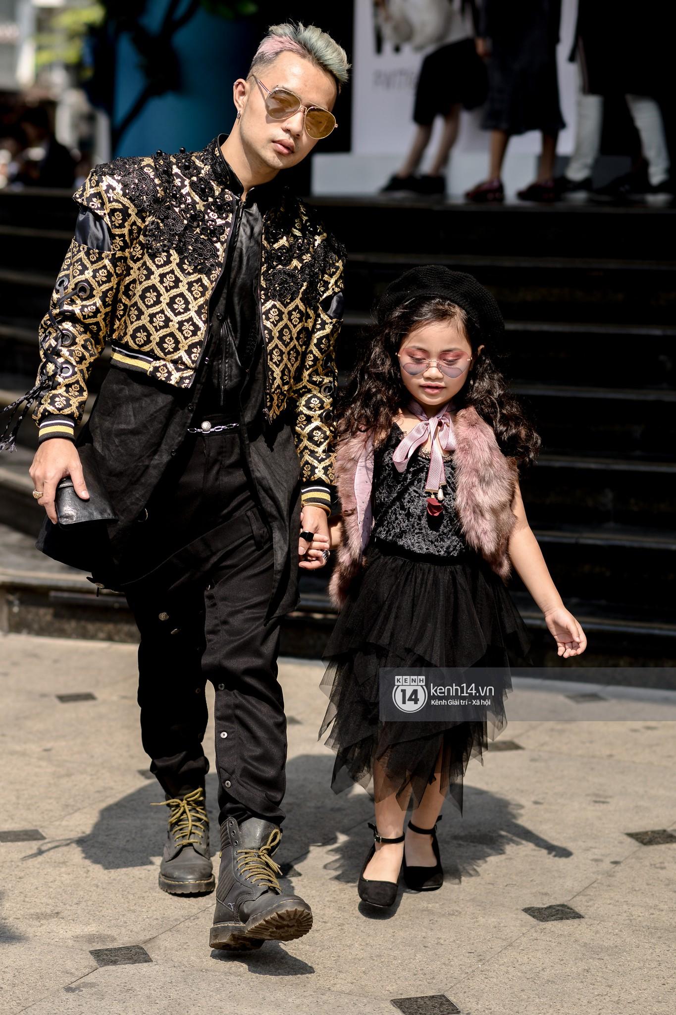 Fashionisto nhí diện áo lông to sụ như G-Dragon, nổi bật nhất street style ngày cuối VIFW - Ảnh 10.