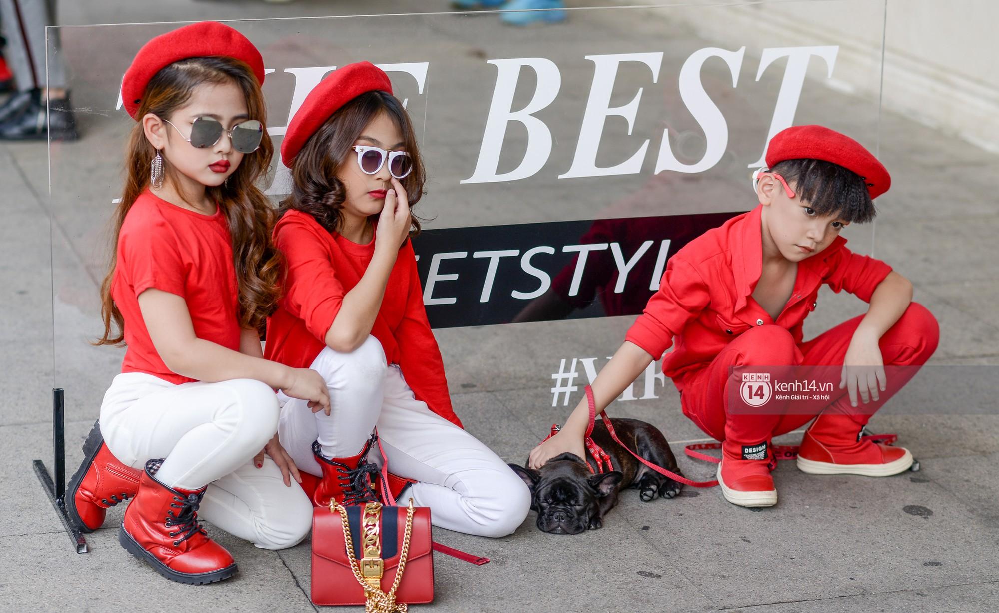 Fashionisto nhí diện áo lông to sụ như G-Dragon, nổi bật nhất street style ngày cuối VIFW - Ảnh 7.