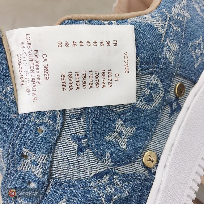 9x Việt độ giày từ đồ Louis Vuitton x Supreme hàng chục triệu đồng đang khiến giới chơi sneakers phát sốt - Ảnh 15.