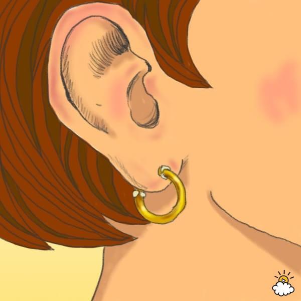 Lý giải hiện tượng lỗ tai bốc mùi... pho-mai thối mà ai đeo khuyên cũng bị - Ảnh 3.