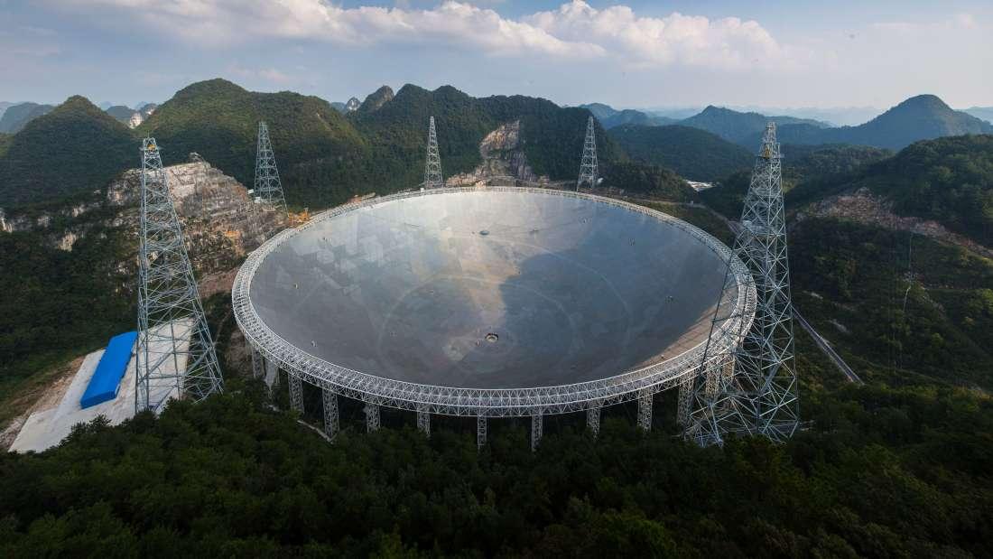 FAST - kính quan sát thiên văn lớn nhất thế giới
