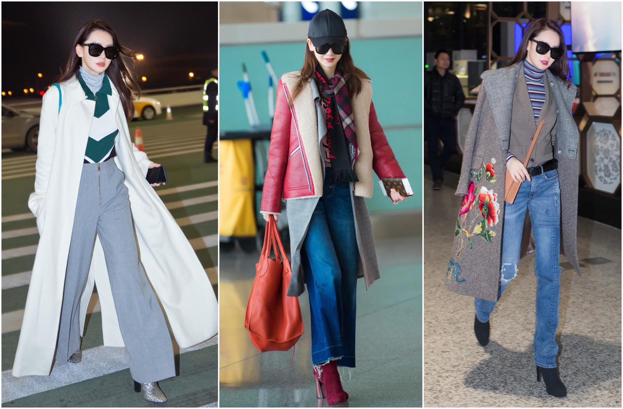 5 ngôi sao Hoa ngữ sở hữu phong cách thời trang sân bay đẹp nhất năm 2017 - Ảnh 12.