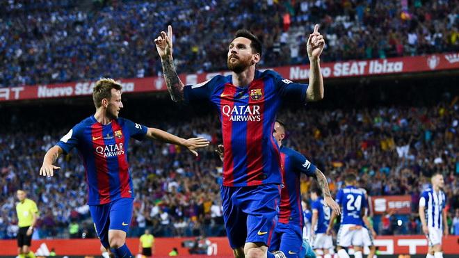 Barca sẽ bán tên sân Camp Nou để lót tay Messi gia hạn hợp đồng - Ảnh 1.