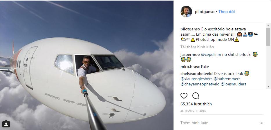 Sự thật đằng sau những tấm hình selfie giữa bầu trời gây sốt Internet sẽ khiến bạn cảm thấy... bị lừa - Ảnh 2.