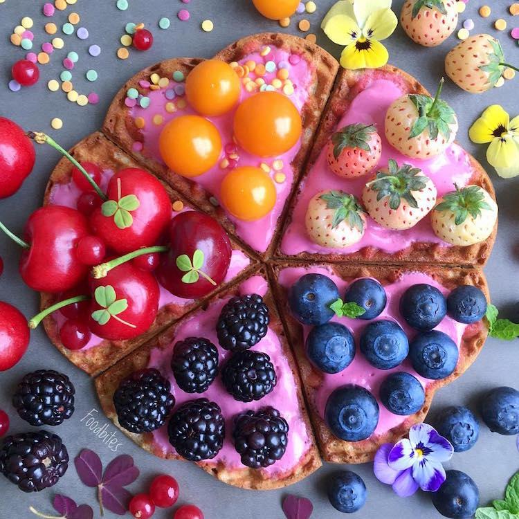 Các bức tranh rực rỡ được vẽ nên từ các loại hoa quả khác nhau - Ảnh 21.