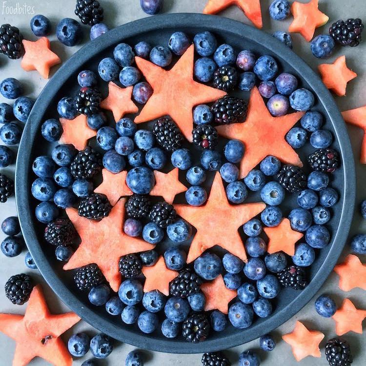 Các bức tranh rực rỡ được vẽ nên từ các loại hoa quả khác nhau - Ảnh 9.