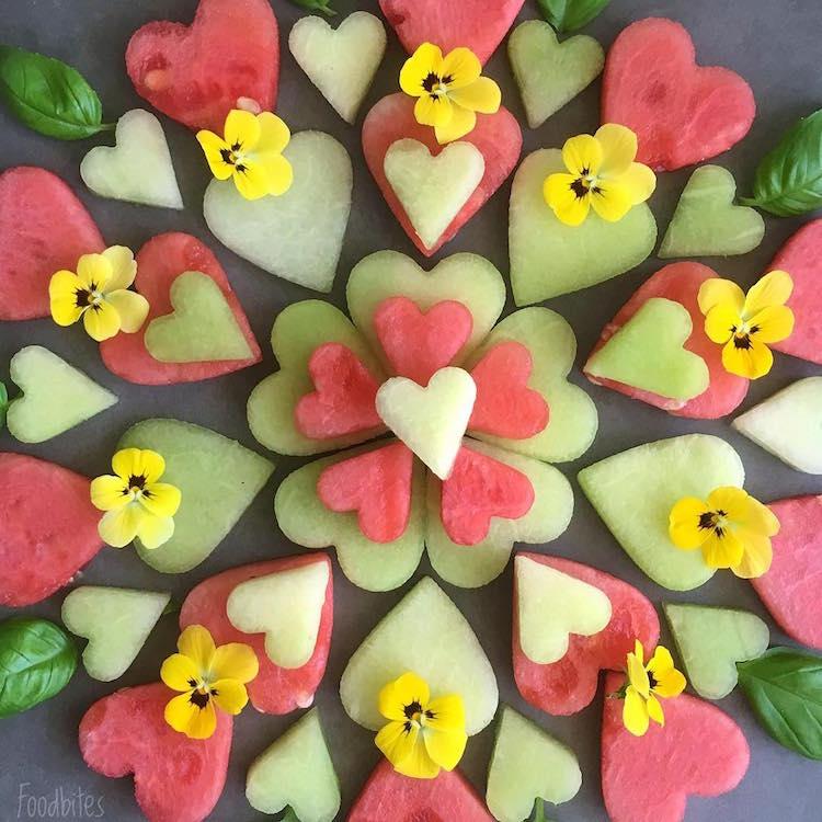 Các bức tranh rực rỡ được vẽ nên từ các loại hoa quả khác nhau - Ảnh 7.