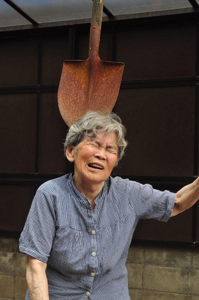 Cười té ghế với bộ ảnh hài của cụ bà 90 tuổi lầy lội nhất nước Nhật Bản - Ảnh 11.