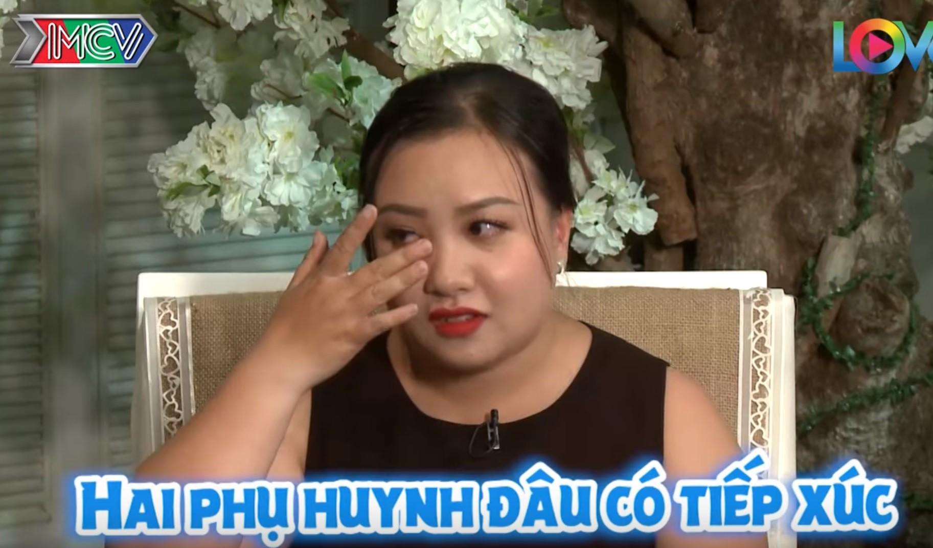 Cãi lời mẹ bấm nút trong Bạn muốn hẹn hò, cô gái rơi nước mắt trên truyền hình sau 1 năm yêu đương bí mật - Ảnh 4.