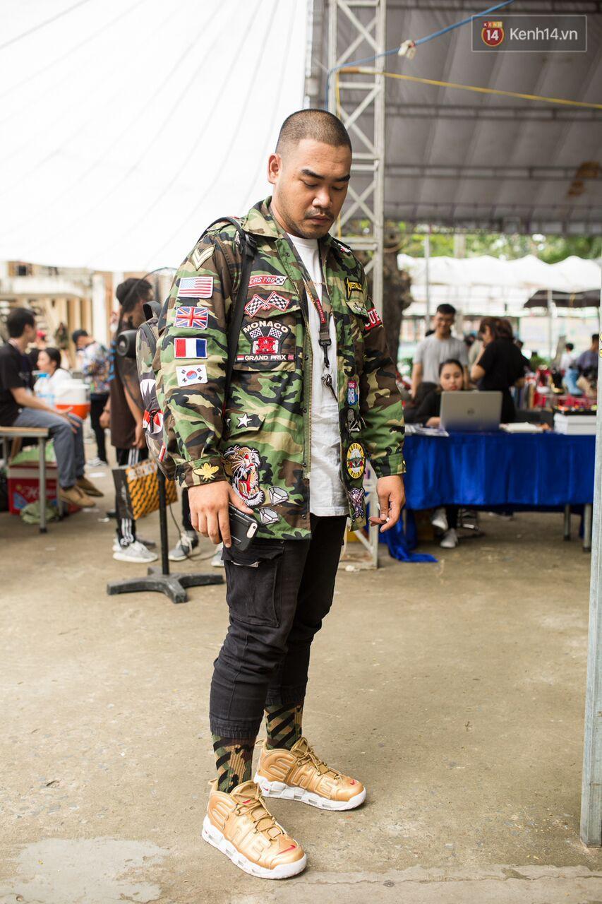 Đầu giày và tín đồ streetwear Sài Gòn lên đồ chất, trưng giày giá khủng tại sự kiện cuối tuần qua - Ảnh 10.