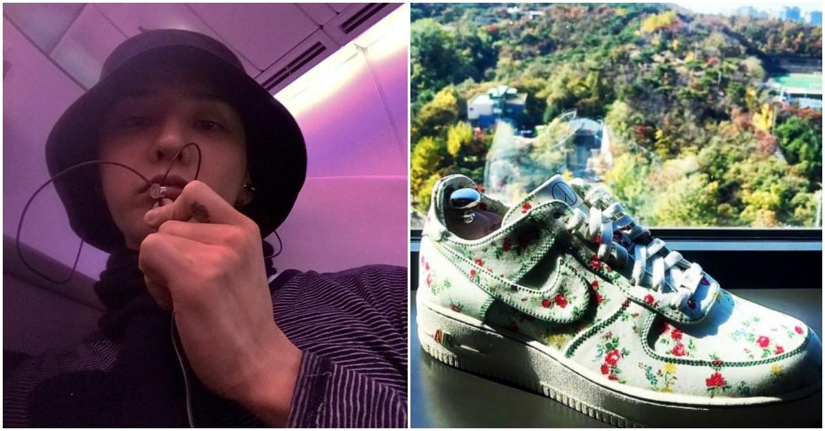 Mừng cháy hàng chỉ trong 1 phút, Nike tặng G-Dragon đôi sneaker có-1-0-2 trên toàn cầu - Ảnh 1.