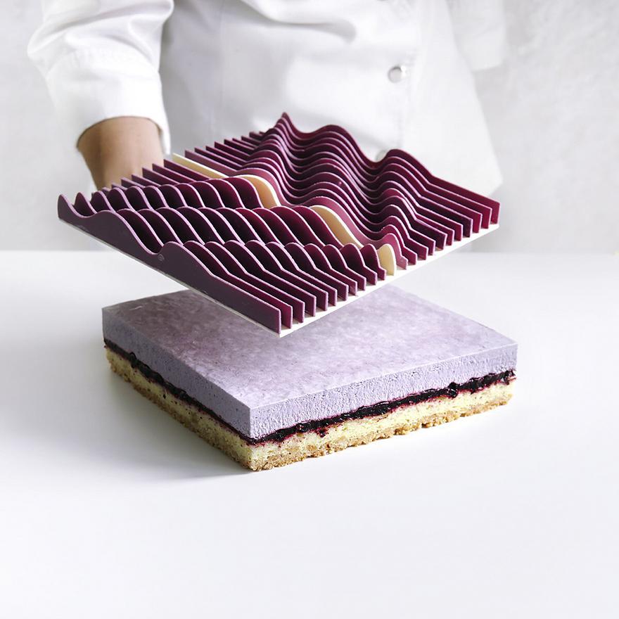 Những chiếc bánh hình học 3D đẳng cấp đã đạt tới cảnh giới đỉnh cao nghệ thuật - Ảnh 5.