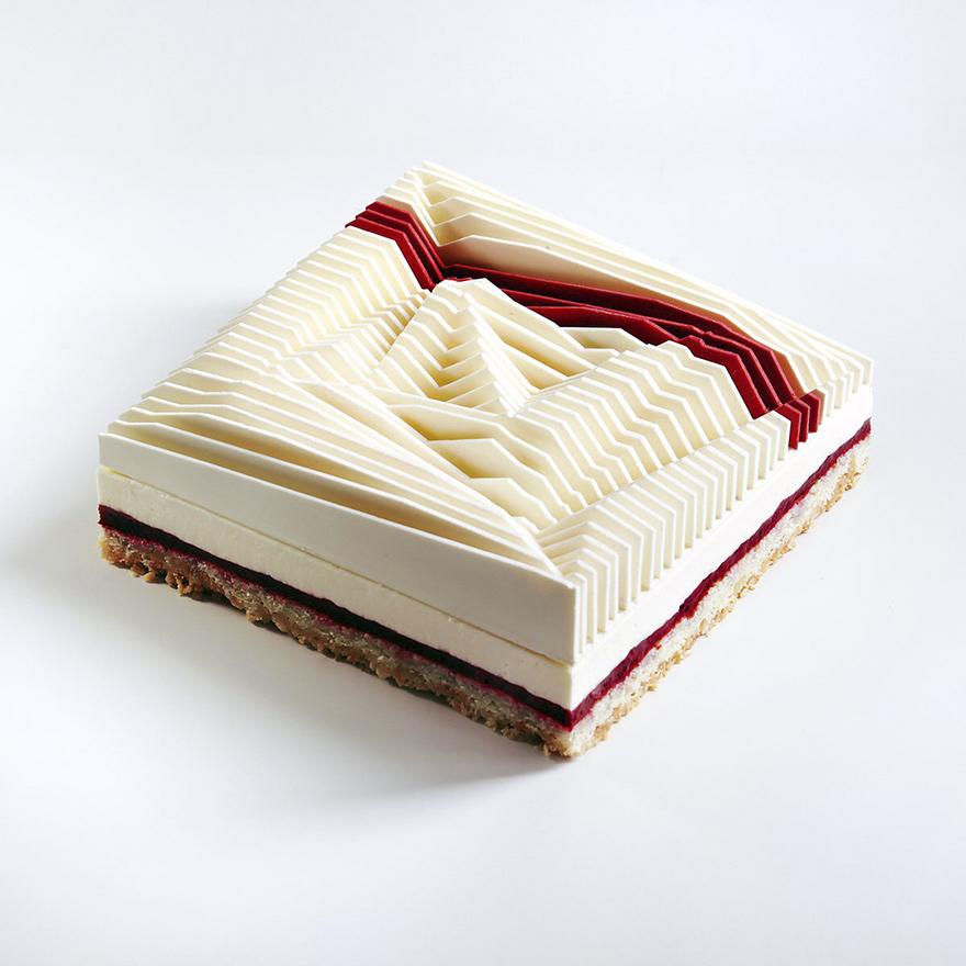 Những chiếc bánh hình học 3D đẳng cấp đã đạt tới cảnh giới đỉnh cao nghệ thuật - Ảnh 7.