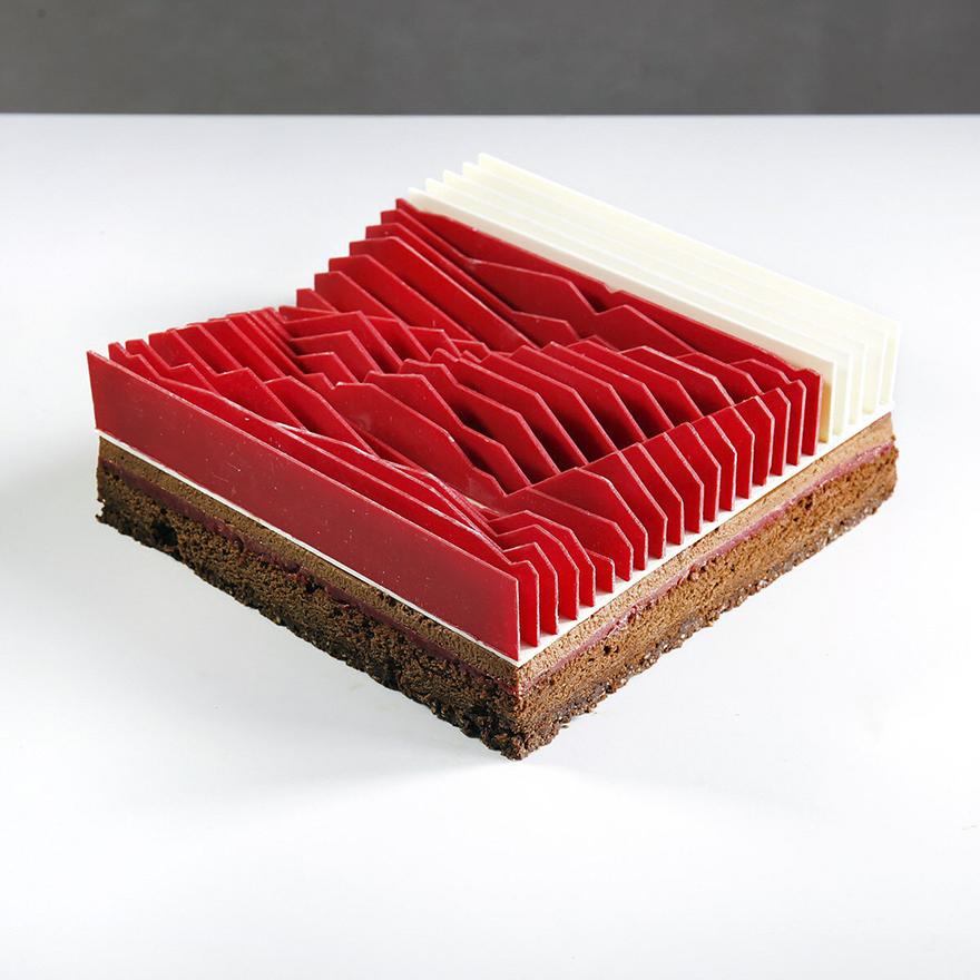 Những chiếc bánh hình học 3D đẳng cấp đã đạt tới cảnh giới đỉnh cao nghệ thuật - Ảnh 11.