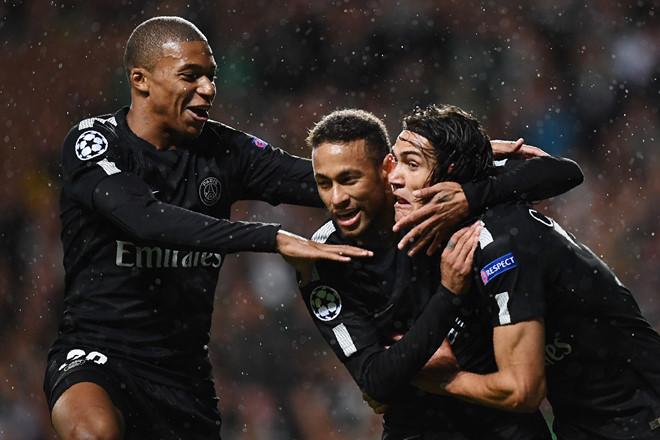 Tam tấu Cavani-Mbappe-Neymar rực sáng, PSG thắng 5 sao ở Champions League - Ảnh 2.
